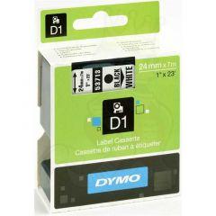 Dymo Tape Cartridge 53713 24mm Black on White S0720930