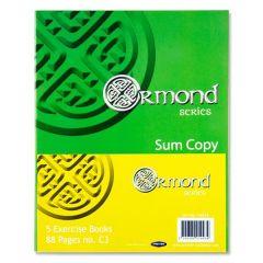 Ormond Sum copy book C3 (5PK)