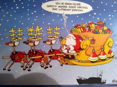 Safety First RNLI Christmas Cards