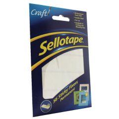 Sellotape Sticky Fixers  Permanent Pk 56