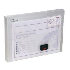 Snopake A4 35mm Clear DocBox 12861