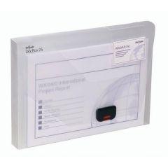 Snopake A4 Clear Doc Box 25mm