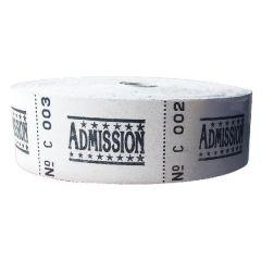Roll Ticket Admission Assrtd 50022 ITAD