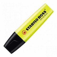 Stabilo Boss Highlighter Pen Yellow Pk 10's