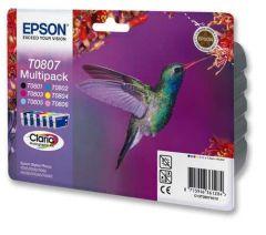 T080740 Epson Inkjet Cartridge Refill Ink Set 6 T0807