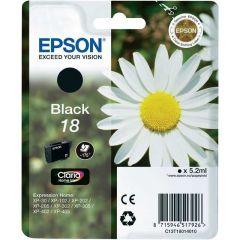 Epson Inkjet Cartridge Refill Ink Black T1801