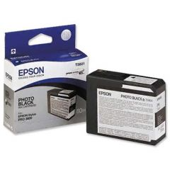 T580100 Epson Inkjet Cartridge Refill Ink Photo Black T5801