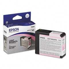 T580600 Epson Inkjet Cartridge Refill Ink Light Magenta T5806