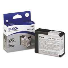 T580700 Epson Inkjet Cartridge Refill Ink Light Black T5807