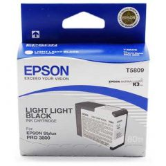 T580900 Epson Inkjet Cartridge Refill Ink Light Light Black T5809