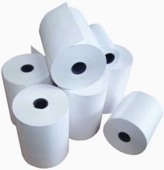 44mm x 70mm Paper Rolls Boxed 20's
