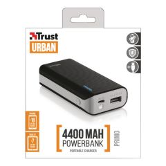 Primo Power Bank 4400 Portable Charger Black