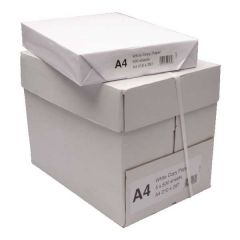 Box A4 White Copier Paper 5 x 500 Sheets.