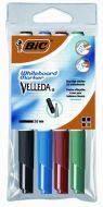 Bic Velleda Whiteboard Marker Bullet Tip Assorted Wallet of 4