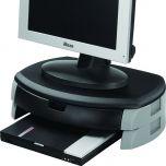 Monitor/Printer Stand/Drawer Black