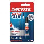 Loctite Clear Universal Super Glue Tube 3g