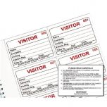 Identibadge System Visitors Book Refill Pack of 100