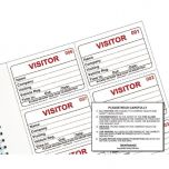 Identibadge System Visitors Book Refill Pack of 300