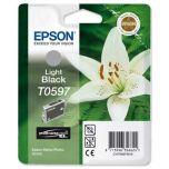 T059740 Epson Inkjet Cartridge Refill Ink Light Black T0597