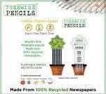 Treewise Plantable HB Pencils Pk5