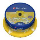 Verbatim DVDplusRW 4X Spindle25