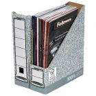 Premium Magazine File Grey By Bankers Box Pk 10