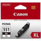 Canon Pixma CLI-551XLBlack Inkjet Cartridge High Yield Black 6443B001