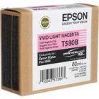 Epson Inkjet Cartridge Light Magenta C13T580B00