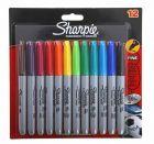 Sharpie Marker Fine Assorted Pack 12