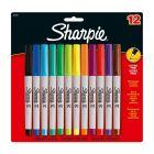 Sharpie Marker Ultra-Fine Assorted Pack 12