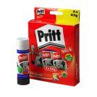 Pritt Glue Stick Large 43gm Boxed 5's 1456072