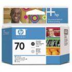 HP 70 Print Head Photo Black Light Grey C9407A