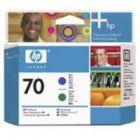 HP 70 Print Head Blue Green C9408A