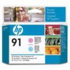 HP 91 Print Head Light Magenta/Light Cyan C9462A