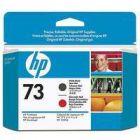 HP 73 Print Head Matte Black/Red CD949A