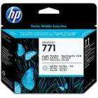 HP 771 Design Jet Print Head Photo Black/Light Grey CE020A