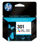 HP Inkjet Cartridge Refill Ink Colour CH562EE No. 301