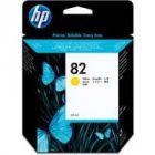 HP 82 Inkjet Cartridge Yellow 28ml CH568A