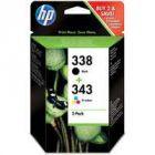 HP 338/343 Combo Pk CMYB SD449EE