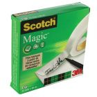 Scotch Magic Tape 810 12mm x 66m 2Pk