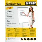 Bi-Office Plain Flipchart Pad A1 40 Sheet Pk5