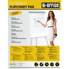 Bi-Office Gridded Flipchart Pad A1 40 Sheet Pk5